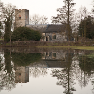 The Church Meadow in Flood