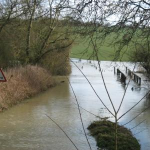 The Overgang in Flood