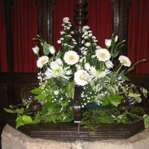 Flowers in the Church